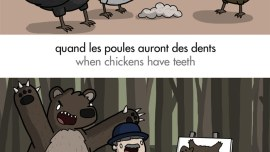 6 Hilariously Illustrated French Animal Idioms