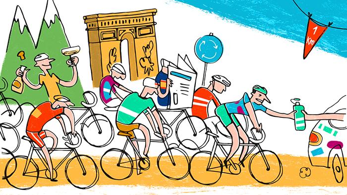 7 mots français du cyclisme