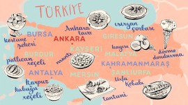 """""""Du hast die Quitte gegessen!"""" – Über Delikatessen in der türkischen Sprache und Kultur"""
