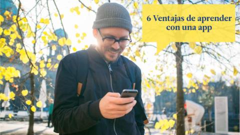 6 ventajas de aprender un nuevo idioma con una app en lugar de en un curso