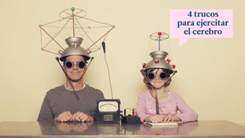 4 trucos para mantener el cerebro en forma