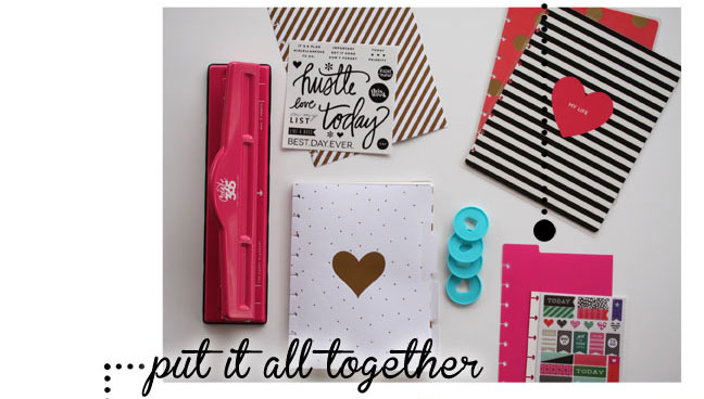How to create a Quilt Planner using The Happy Planner products to complete the quilt planner