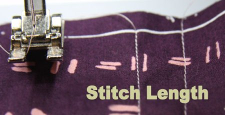 Adjust stitch length