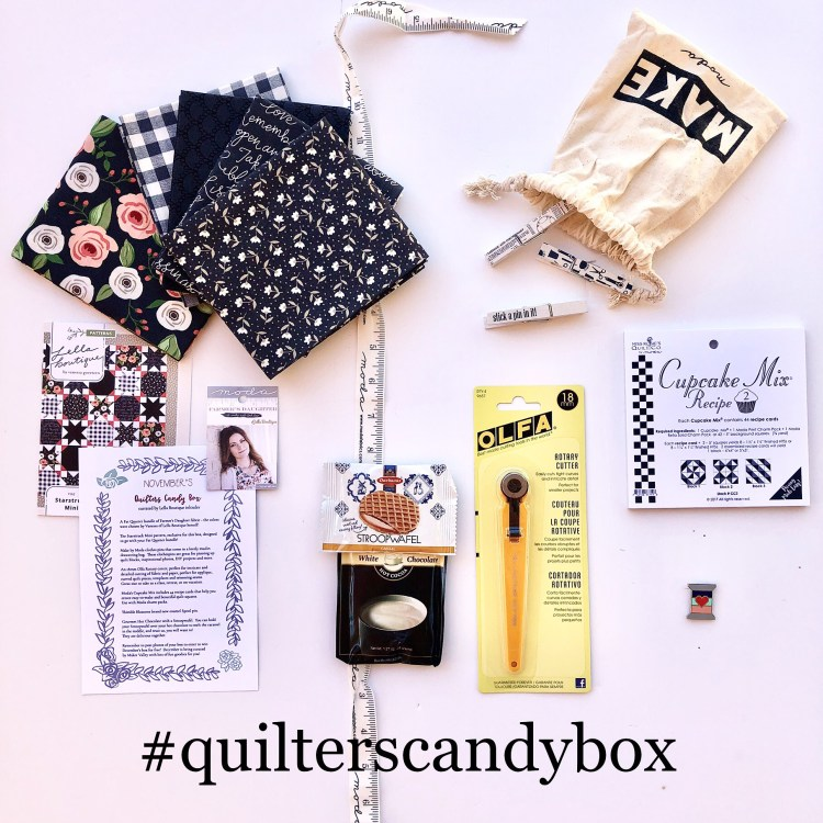 November Quilters Candy Box