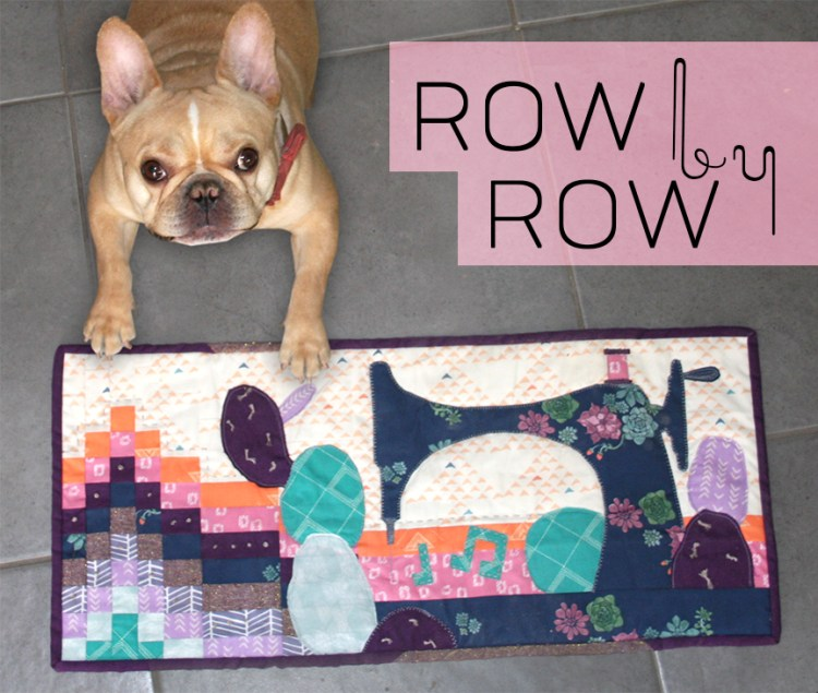 Enzo and Sewing Sound Waves Row by Row