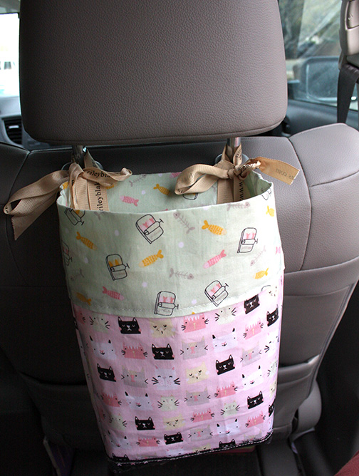 Car Trash Bag DIY project for your car