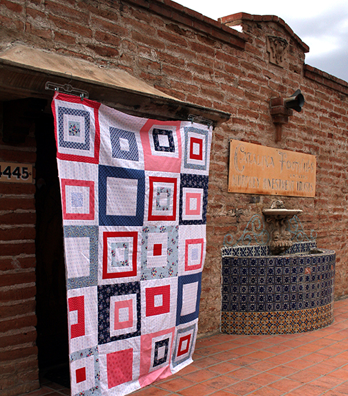 Putting your quilt top together