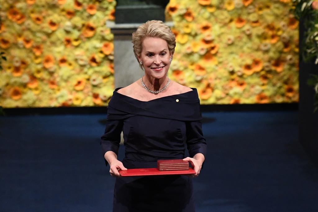 Frances Arnold receives Nobel Prize