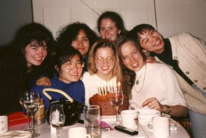 Graduate students in the College of Chemistry, 1990