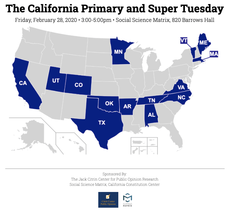The California Primary and Super Tuesday States
