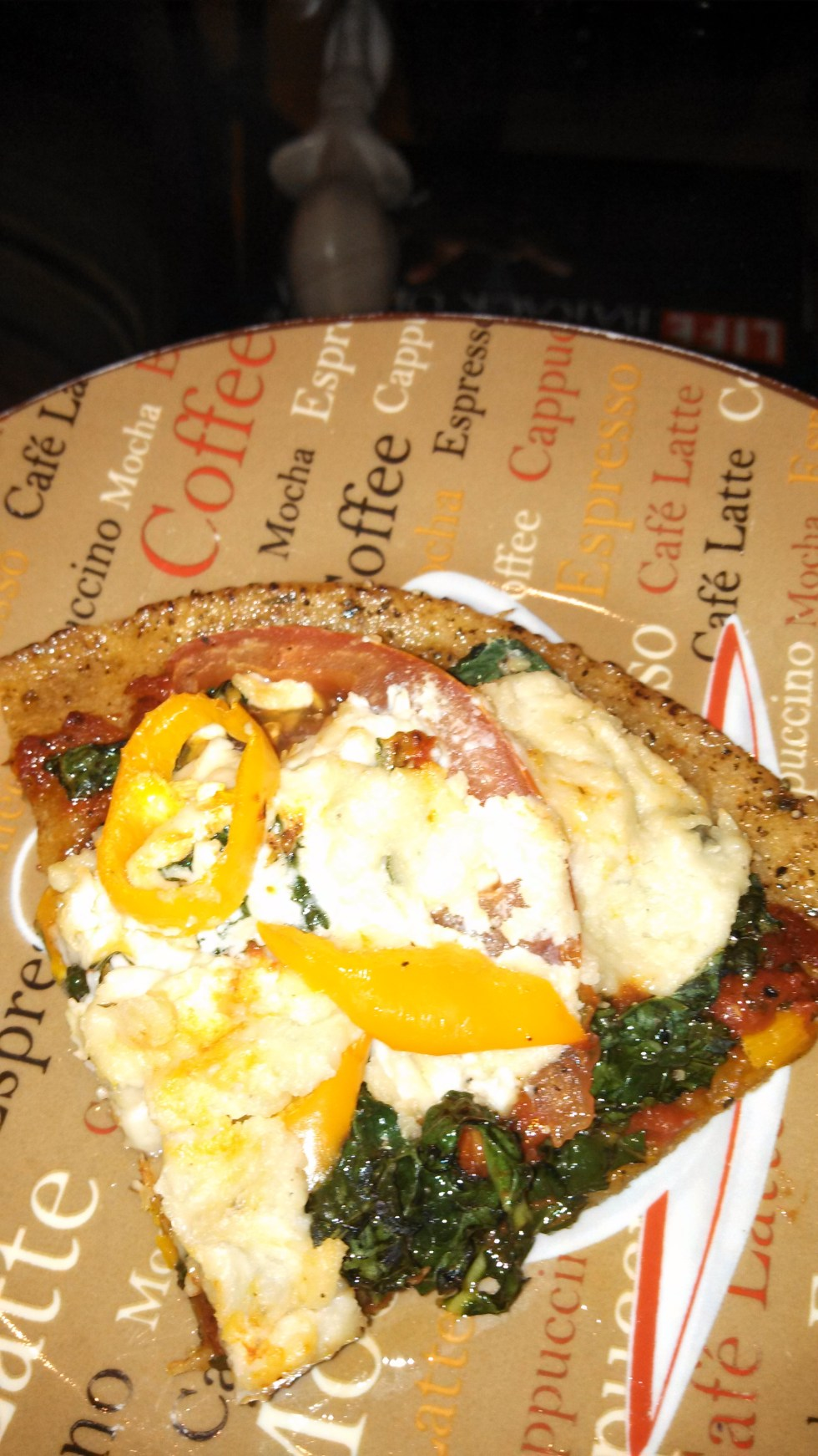 Homemade Chickpea Flatbread Pizza