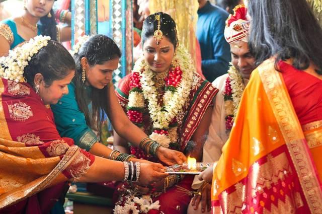 হিন্দু বিবাহের চিত্র