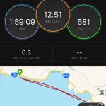 【CROS SUP練習日誌】七里ガ浜から葉山まで往復12.5km 向かい風と複雑うねりの対応練