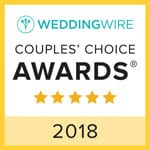 Wedding Wire Couple's Choice Award 2016