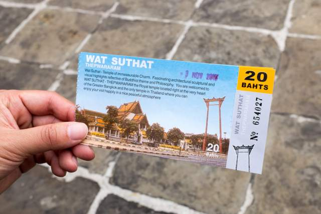 ticket wat suthat