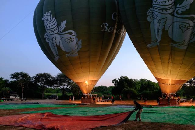 montgolfiere bagan