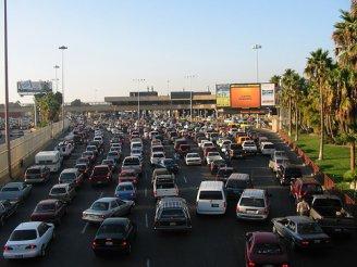 San Ysidro border crossing photo