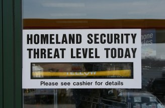 Homeland security level photo