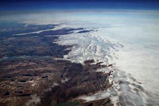 Greenland ice caps photo