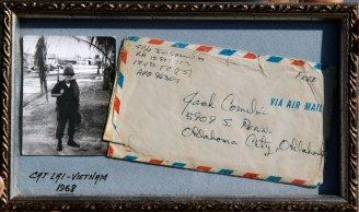 Veterans death 2 - letter photo