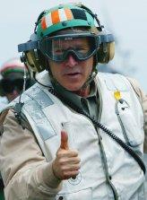 Presidential Fails- Bush, Mission Accomplished photo