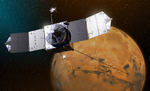 MAVEN Illustration (courtesy NASA/GSFC)