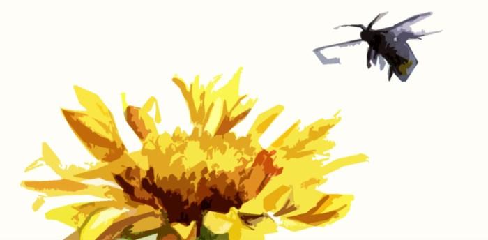 stylized bee