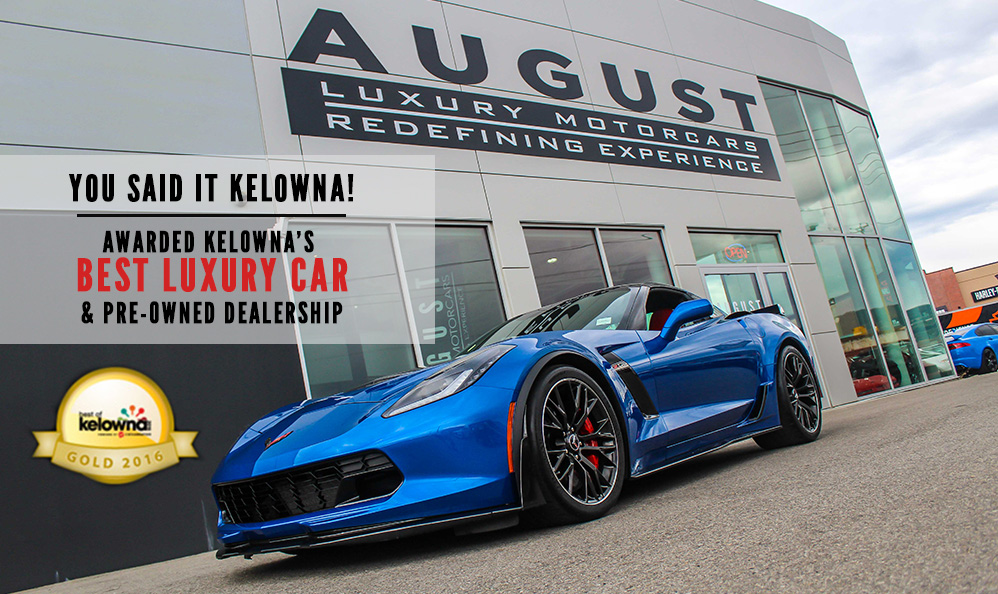 Best Luxury car dealership in Kelowna