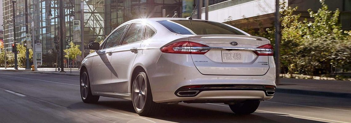 2018 Ford Fusion at Mosher Motors
