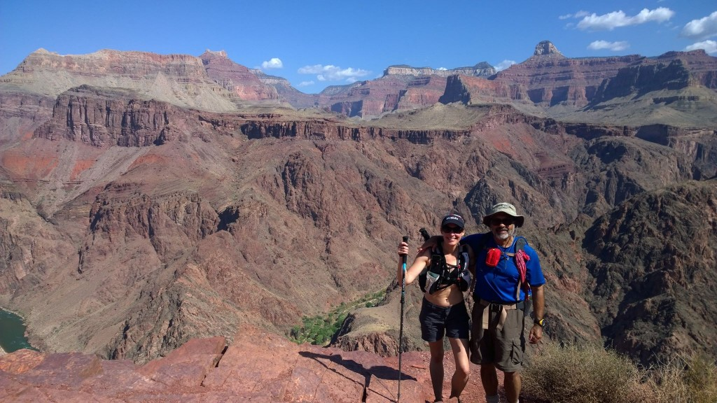 Me and my amazing 66-yr old dad in the Grand Canyon. It's such an amazing thing to be able to join him on experiences like this. I'm forever proud at how fit, strong, and adventurous he is. I'm truly one lucky daughter!
