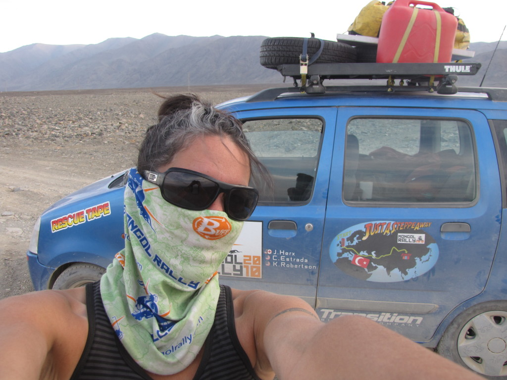 First introduced to Buff in 2010, I quickly fell in love. Great for sand and dirt protection while on the Mongol Rally!