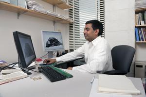 Chandra Kambhamettu, Professor of Computer and Information Sciences.