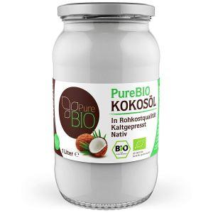 PureBIO Kokosöl - nativ und kaltgepresst