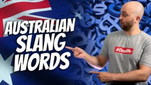 pete smissen, host of aussie english, introduction to australian slang, aussie slang, aussie slang ending in ie and o, slang words australia