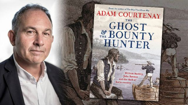 adam courtenay, the ghost and the bounty hunter, adam courtenay interview, william buckley, john batman