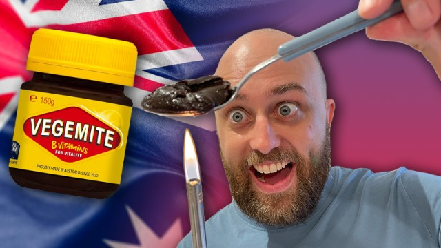 pete smissen, host of aussie english, talks about vegemite, australia spread, how to eat vegemite, eat vegemite on toast