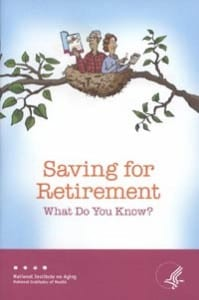 SAVING FOR RETIREMENT: WHAT DO YOU KNOW?