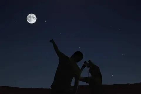 Der Postillon Seltenes Phanomen Heute Nacht Ganz Normaler Mond