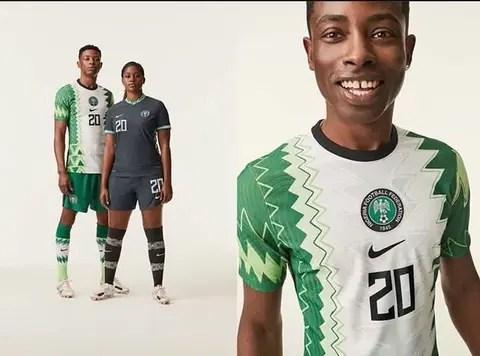 Nigeria's 2020 Jersey Kit