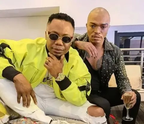 Pictures: DJ Tira spotted clubbing with Somizi