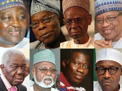Nigéria anciens présidents