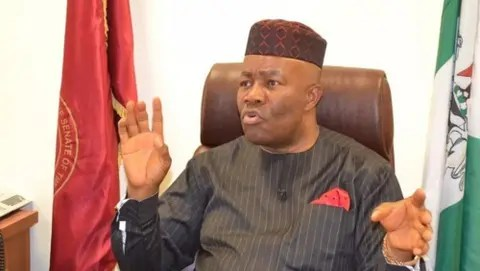 Akpabio's letter to NASS mentioning contracts allegedly awarded to members (Photo)