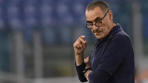 Tras la derrota en la Copa Italia, a Sarri ya lo ponen en la ...