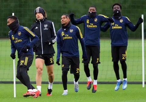 arsenal to return to training