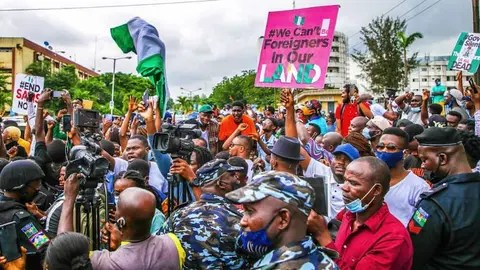EndSARS Protests Turn Violent in Osun, Abuja, Commotion in Lagos -  THISDAYLIVE
