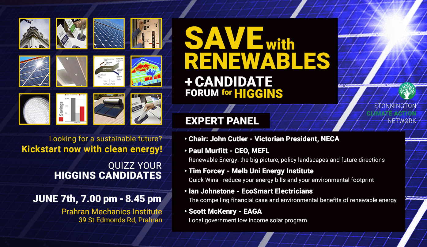 Renewables Candidate Forum