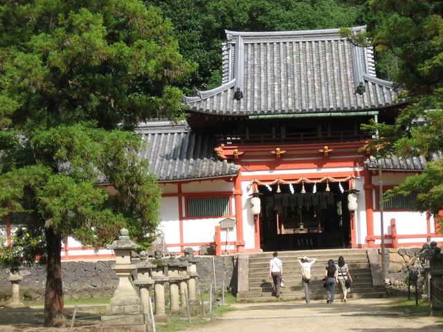 Himuro-jinja shrine (I think)