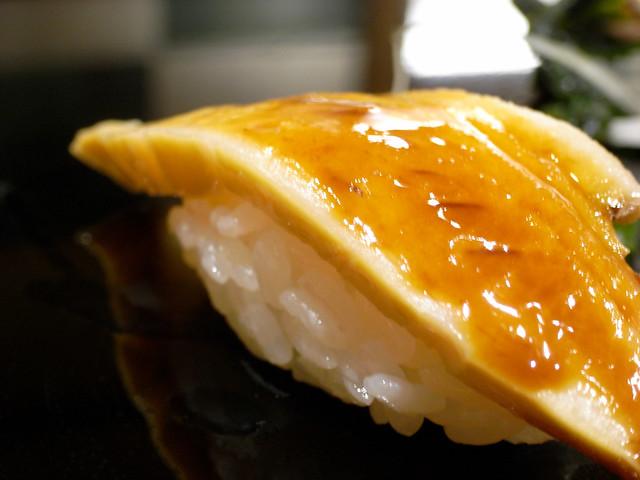 Abalone Sushi @ Ginza Kyubey