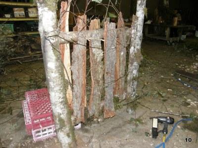 Organic Wood Pergola