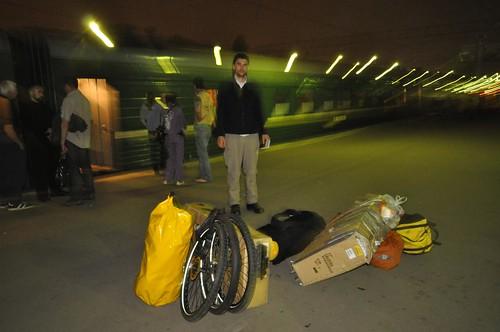 Lugging Luggage